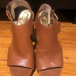 Michael Kors, Josephine Peep Toe Wedges, Size 9